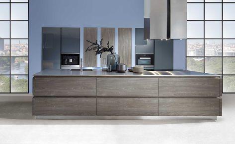 Schröder Küchen Küche ohne Griffe Fenix GLV schwarz Küchen - griffe für küche