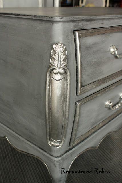 Pin On Bútor Felújítás, Silver Leaf Furniture