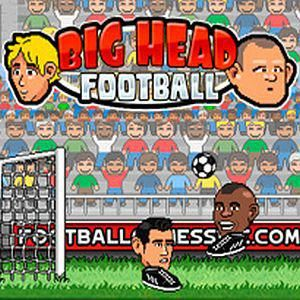 Big Head Football Is An Awesome Soccer Game Online And One Of The Best Sports Games At Friv Play Socc Big Head Football Online Games For Kids Two Player Games