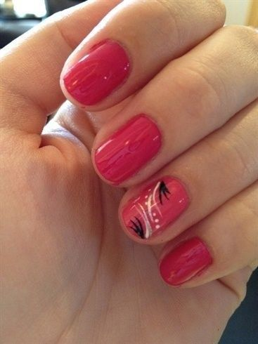 Cute Lines Dots Nail Art Design To Try Now 26 Glamisse Com Line Nail Art Dot Nail Art Designs Dot Nail Art