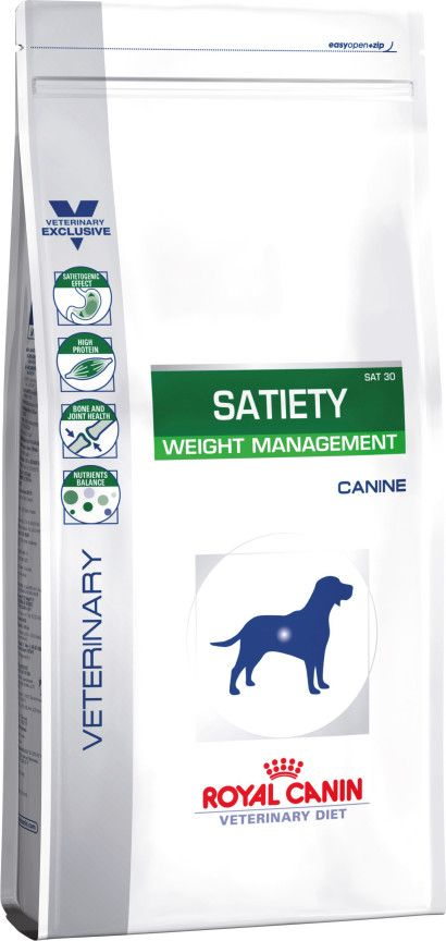 Satiety Weight Management Dry Dog Food