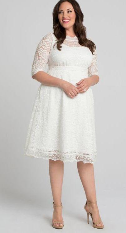 Plus Size White Lace Dresses White Lace Dresses In Plus Sizes In 2020 Lace White Dress Cocktail Dress Lace Plus Size Lace Dress