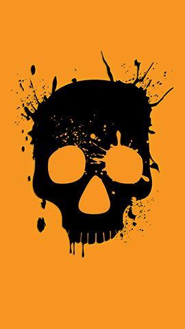 Wasted Skull Skull Wallpaper Neon Wallpaper Skull Artwork