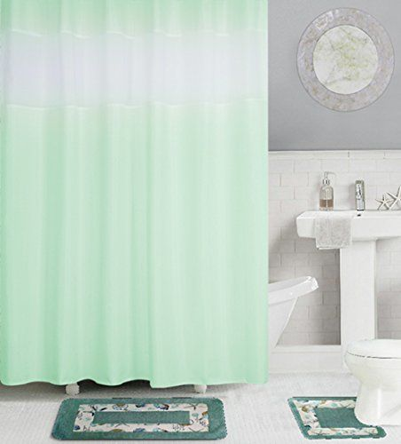 Eforcurtain Standard Size Elegant Organza Striped Shower Curtains 72 By 72 Inches Water Resistant Polyester Sho Striped Shower Curtains Mold And Mildew Shower