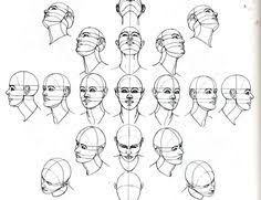 Afbeeldingsresultaat Voor How To Draw Face 3 4 View Drawing The Human Head Human Drawing Sketches