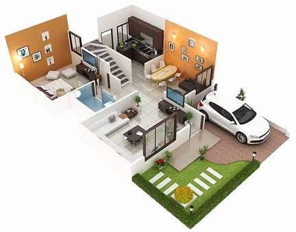 30 40 Site House Plan West Facing Google Search Duplex House