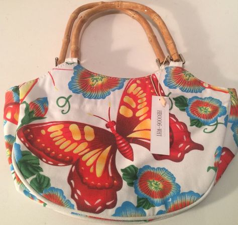 Women's NWT Ebisu Fabric Multi Colored Sequins Bag #Ebisu #Satchel