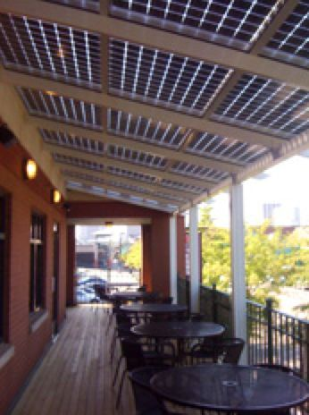 Solar Patio Covering