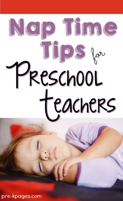 Nap Time Tips for Preschool Teachers - Pre-K Pages