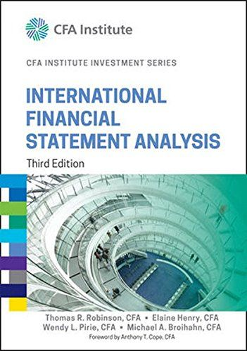 Financial Statement Analysis And Reporting  Books To Read