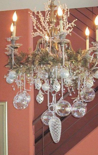 Ideas Para Decorar Lamparas De Techo En Navidad Dale Detalles Ideas Para Arboles De Navidad Ideas De Decoracion De Navidad Decoracion Navidena