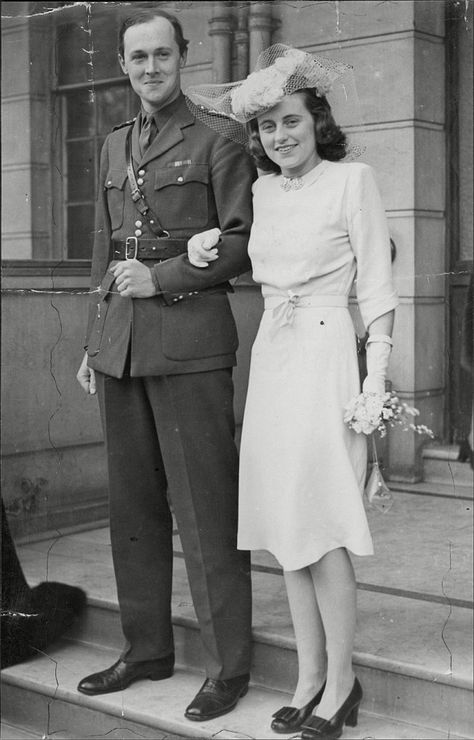Kick and William Cavendish (pictured at their wedding) married in 1944, but he died just a few weeks later, on active service. More tragedy was to follow: just four years later, Kick also died in a plane crash