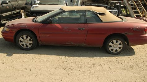 1997 Chrysler Sebring Jx Convertible 2 4l Unknown Miles Ball Joint