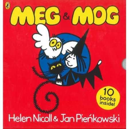 Meg And Mog Storybook Box Set Childhood Books 1980s Childhood