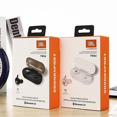 Ad Ebay Link Jbl Tws4 10 Twins Wireless Earbuds Mini Bluetooth V5 0 Stereo Headset Earphon Headphones For Sale Wireless Earbuds Wireless Speakers Waterproof