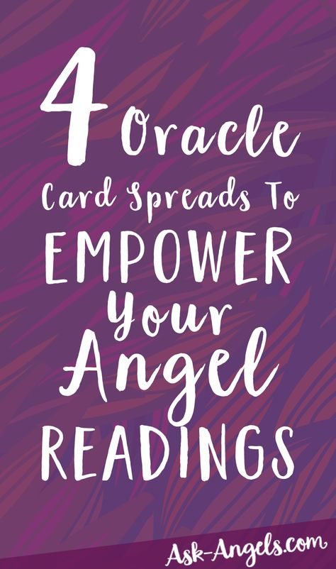 4 Oracle Card Spreads To Empower Your Angel Readings