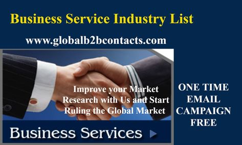 Business Service Industry List