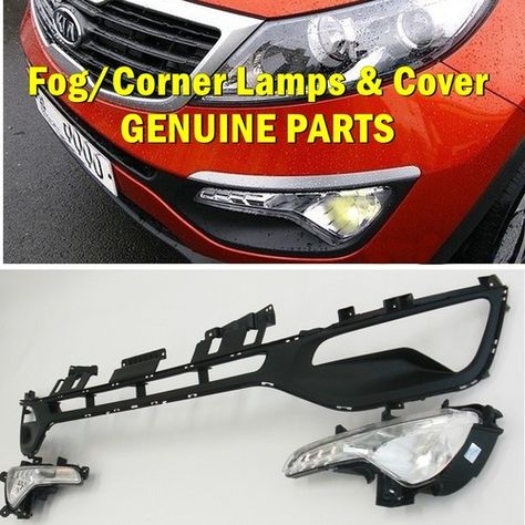 Sportage Fog lamp with cornering lamp