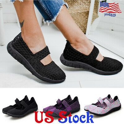 Women's Casual Breathable Black Soled