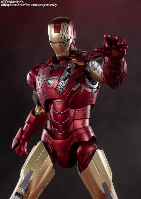 Avengers - Battle of New York Edition - Iron Man Mark 6 - S.H. Figuarts