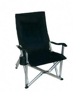 Folding Lawn Chairs Heavy Duty.Deluxe Heavy Duty Folding Lawn Chair Black