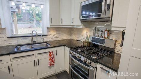 Black Galaxy Granite Kitchen Countertop For Mi Casa In 2019