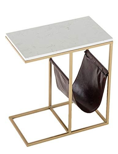 Iron Coffee Table Small Coffee Table Marble Table Top Rust Proof Metal Table Frame Modern Home Living Metal Table Frame Iron Coffee Table Creative Furniture