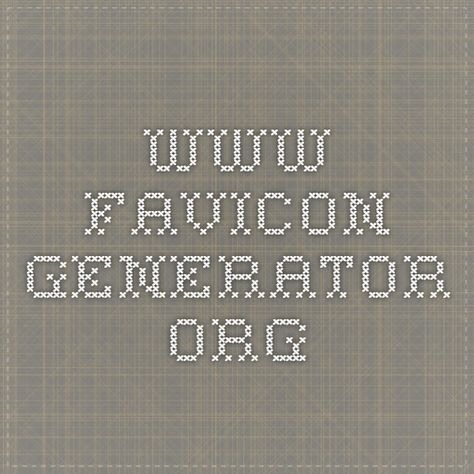 Www Favicon Generator Org With Images Icon Generator App Icon