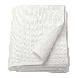 Salviken Bath Sheet White 39x59 Avec Images Drap De Bain Ikea Drap