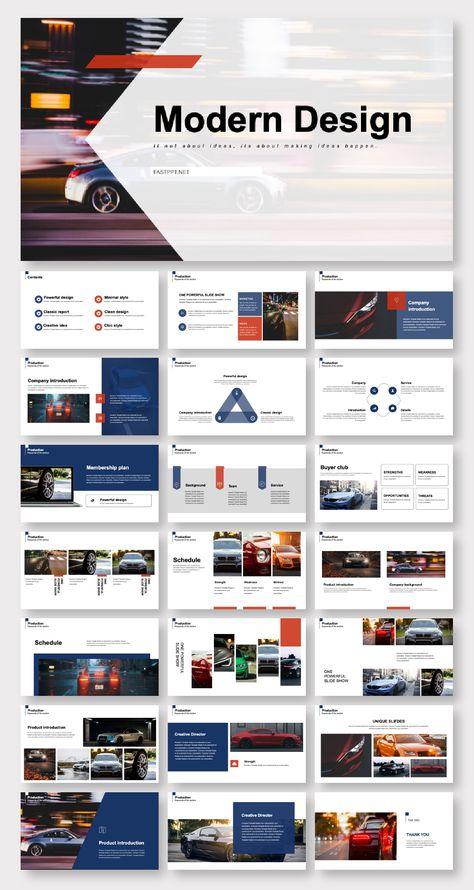 Art Design Minimal Presentation Template – Original and High Quality PowerPoint Templates