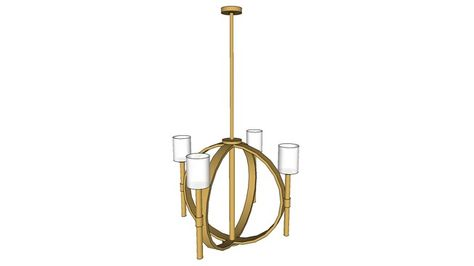 Hinkley Margeaux 8 Light Chandelier in Vintage Brass