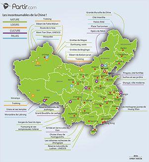 Carte Chine Ou Partir Voyage En Chine Partir En Voyage Carte