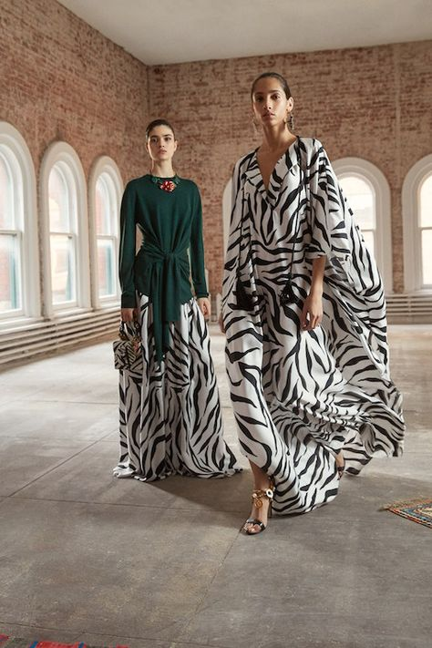 Oscar de la Renta Pre-Fall 2019 Womenswear Collection – New York