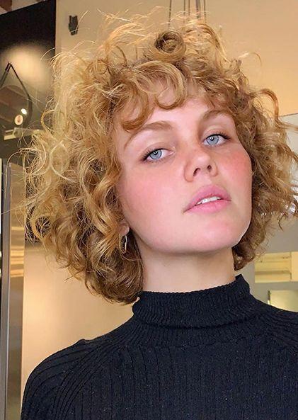 The Curly Shag | TONI&GUY Hairdressing Australia