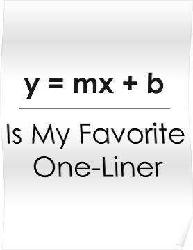 Math Pun One Liner Poster By Theloonmoon Math Puns Funny Math Puns Math Quotes