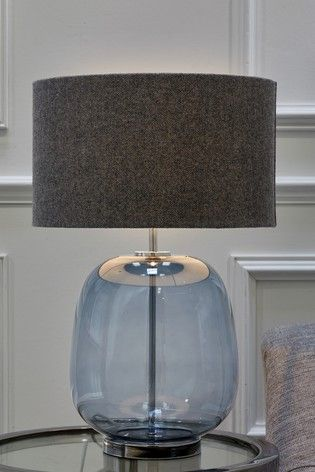 Buy Finn Glass Table Lamp From The Next Uk Online Shop With