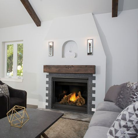 see the fireplace not the frame with napoleon s alluravision rh pinterest com