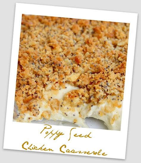 Whisk Your Heart Away: Poppy Seed Chicken Casserole