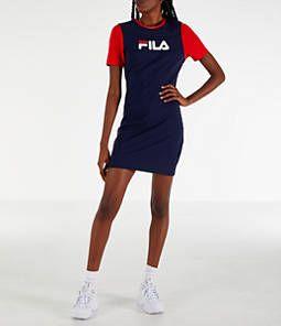 Women's Fila Roslyn Dress Fila kjole, Atletiske kjoler  Fila dress, Athletic dresses