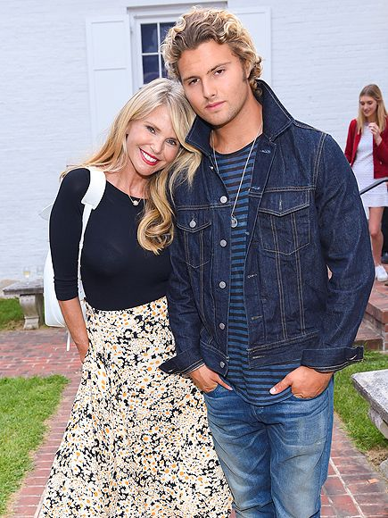 Star Tracks: Tuesday, July 28, 2015 | MOTHER DEAREST | The flawless and ageless Christie Brinkley attends a special screening of 99 Homes in East Hampton, New York, with son Jack Brinkley Cook, 20, on Sunday.