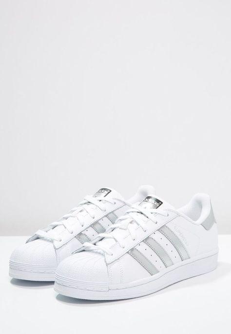 SUPERSTAR Sneaker low whitesilver metalliccore black