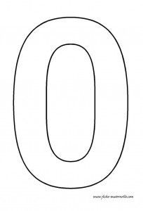 numbers for use in flashcards, coloring pages, puppets or felt boards.
