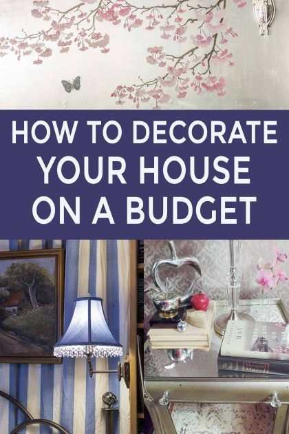 How To Decorate Your Home On A Budget In 2020 With Images