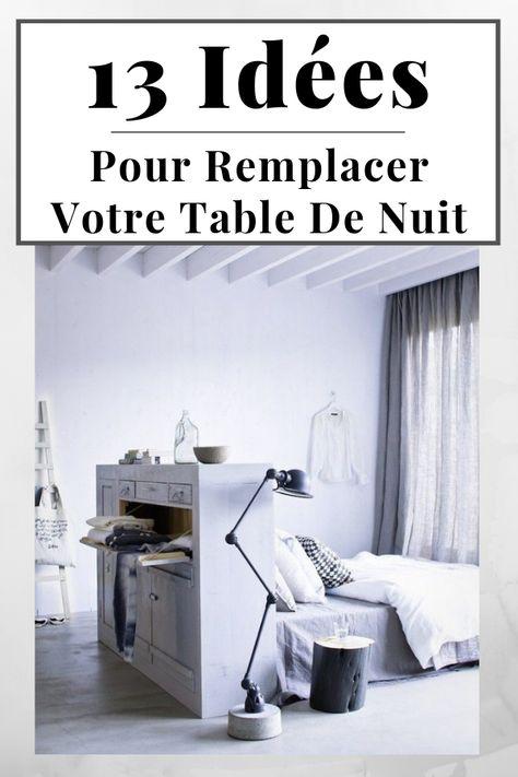Changer De Table De Nuit 13 Alternatives A La Table De Chevet
