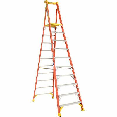 Details About Werner Pd6210 10 Type 1a Fiberglass Podium Ladder In 2020 Fiberglass Ladder Corrugated Box