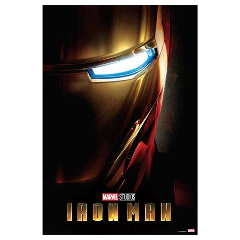 Iron Man Movie Posters Mural - Officially Licensed Marvel Removable Wall Adhesive Decal Large by Fathead   Vinyl