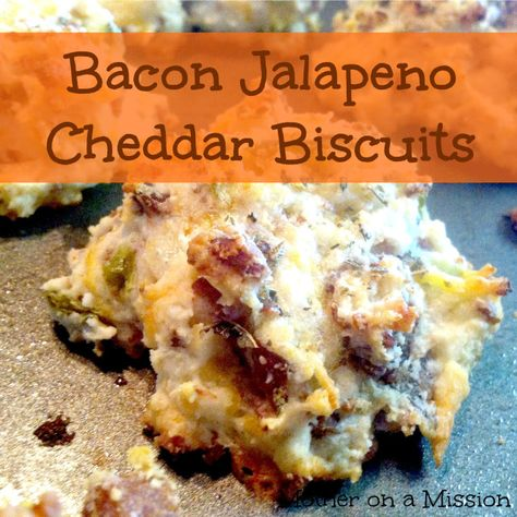 Bacon Jalapeno Cheddar Biscuits
