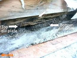 Replacing Rotted Sill Plate And Studs Google Search Plates