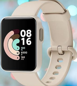ساعة شاومي مي ووتش لايت Xiaomi Mi Watch Lite Apple Watch Xiaomi Smart Watch