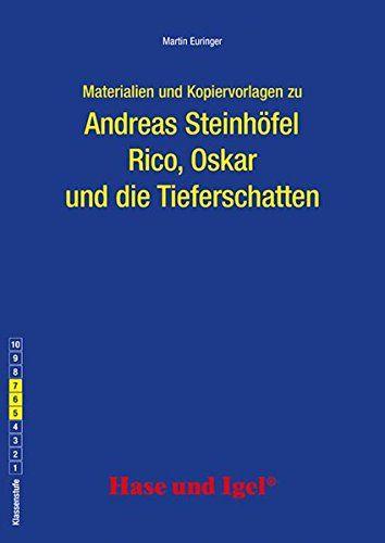 Begleitmaterial Rico Oskar Und Die Tieferschatten Oskar Rico Begleitmaterial Tieferschatten In 2020 Best Books To Read Good Books Diy Book